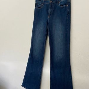 GAP Jeans Flare Leg Medium High Rise size 10 Tall